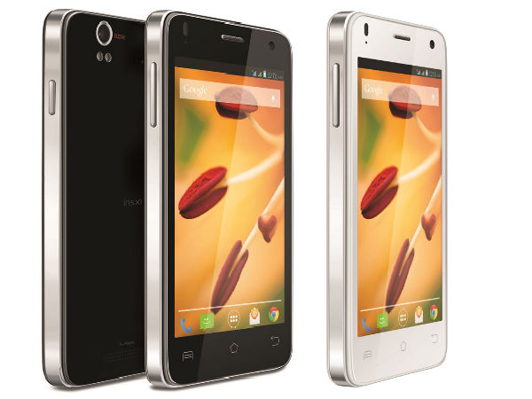 Lava Iris X1 Launched With Android KitKat, Quad Core CPU at Rs 7,999