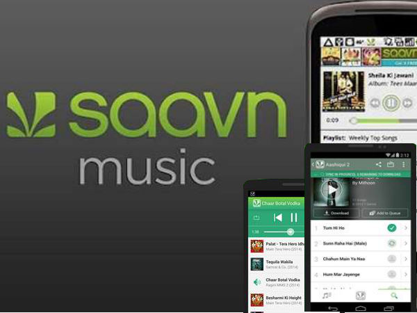 Saavn Music App gets updated: Now available on Android with FM Radio