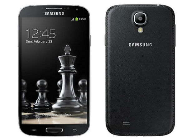 Samsung Launches Galaxy S4 Black Edition in India And S4 Value Outside