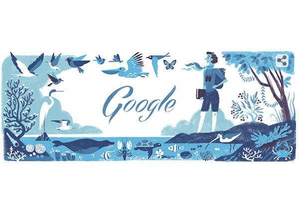 Google Doodle Celebrates Biologist Rachel Louise Carson's 107 Birthday