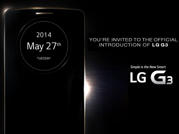 LG G3 Launch Event: Watch Live Streaming Online Here