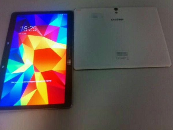Samsung Galaxy Tab S: Live Image Leaked Ahead of Launch