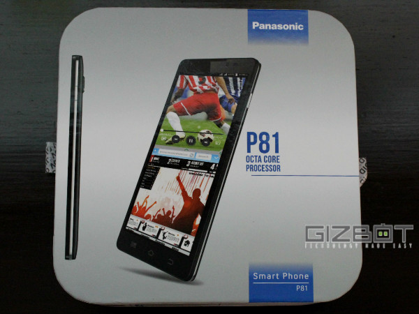 Panasonic P81 Hands on Review