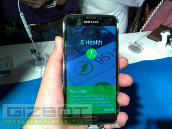 Samsung Galaxy S5 Can Now Check Your Stress Level