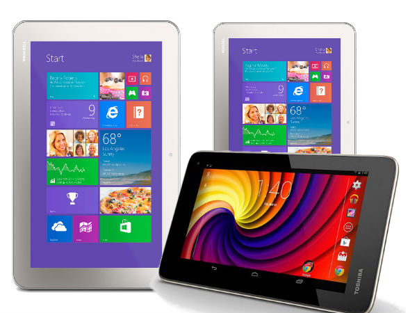 Toshiba Launches Excite Go Android Tablet, Windows-Based Encore 8, 10