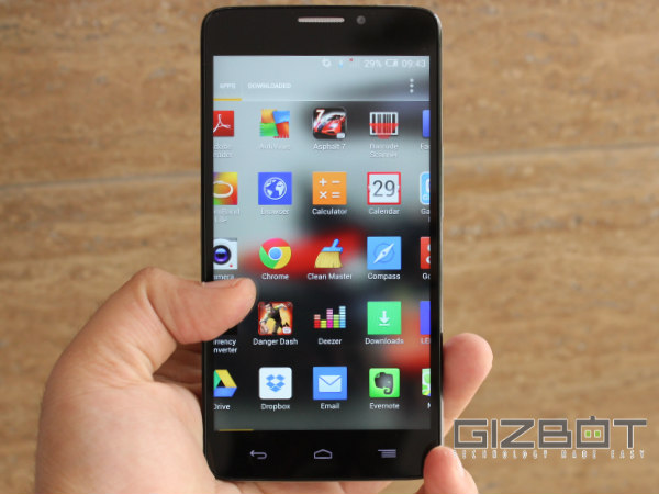 Alcatel OneTouch Idol X+ Hands on and First Look