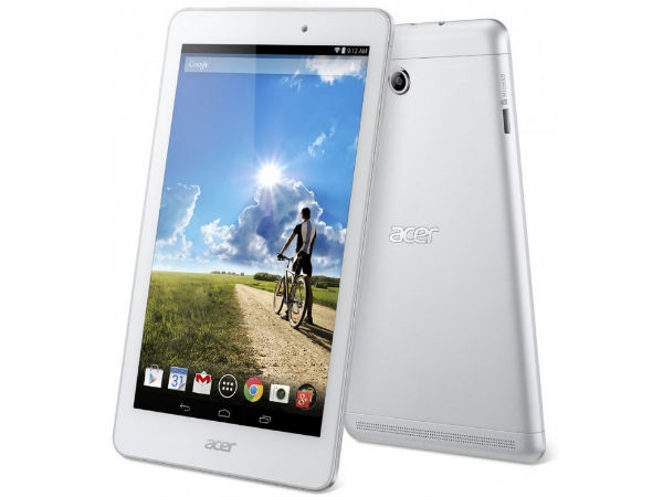 Acer Iconia Tab 8 Announced With 8-inch FHD display, Android KitKat