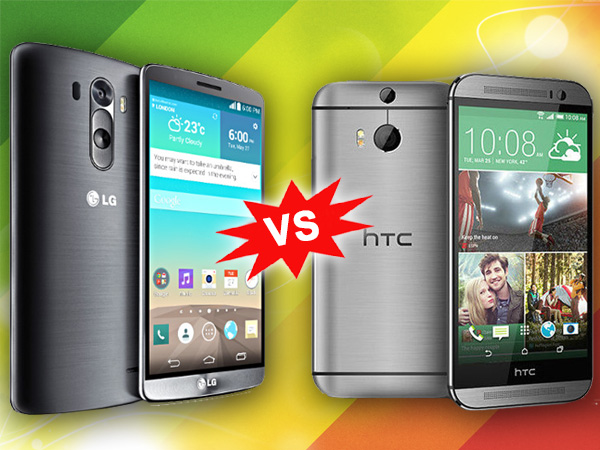 LG G3 Vs HTC One M8: Specs Comparison