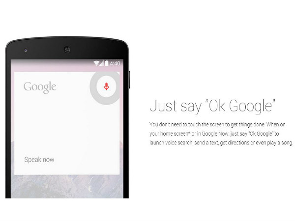 KitKat for Tablets: More Control With Google Now