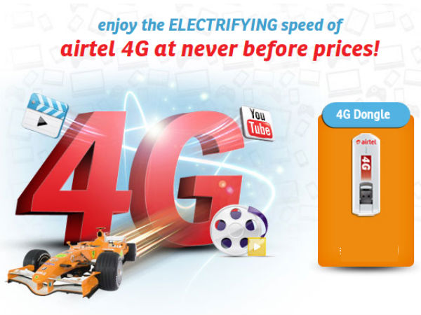 Airtel 4G LTE Now Launched in Jalandhar Along With Special Tariff Plan