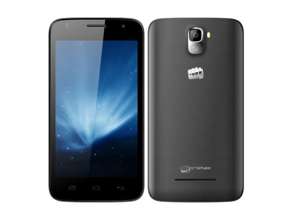 Micromax Canvas A105: 5-Inch Quad Core Phablet Now Available Online