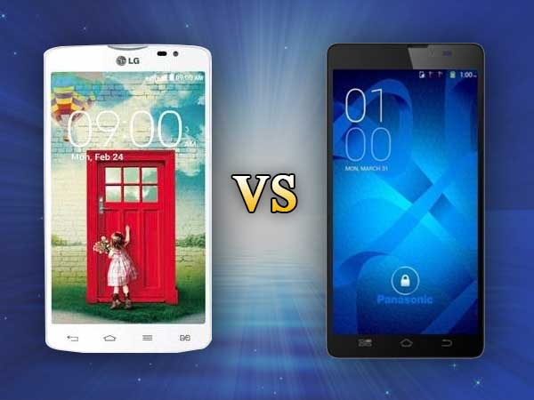 LG L80 Dual Vs Panasonic P81: Specs Comparison