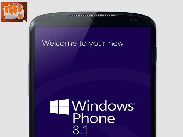 Micromax Windows Phone 8.1 Smartphone Leaks