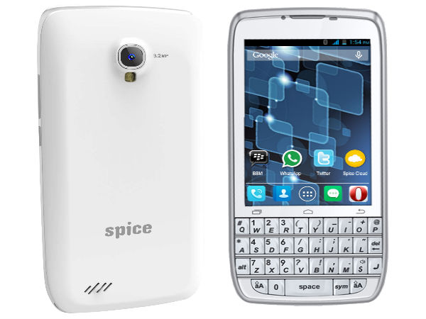 Spice Stellar 360 With QWERTY Keypad Now Available Online for Rs 4,799