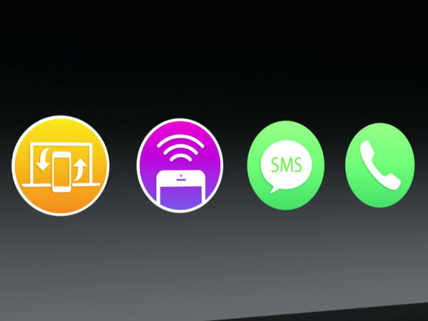 Apple OS X Yosemite: Integration Between Mac and iOS