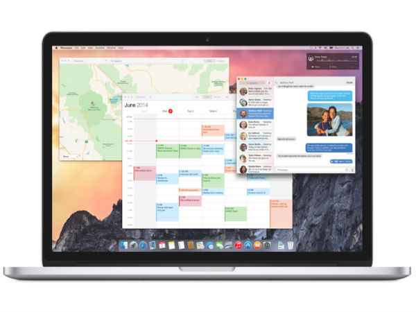 Apple OS X Yosemite: Application Overhaul