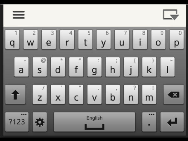 iOS 8 at WWDC 2014: Keyboard for the Blind