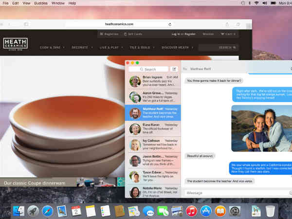 Mac OS X Yosemite: More Translucency