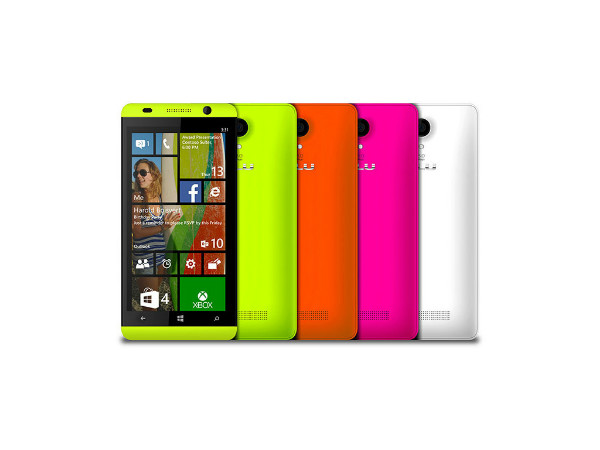 Microsoft Reveals Windows Phone 8.1 Smartphones at Computex 2014