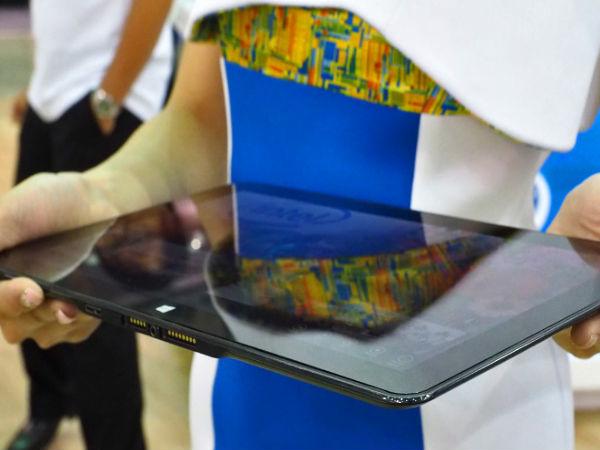 Intel Showcases Llama Mountain Prototype Tablet Measuring 7.2mm Thin