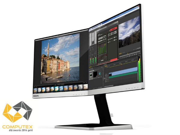 Philips Two-in-One Monitor Unveiled At the Computex 2014
