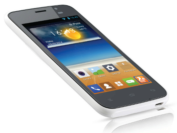 Gionee Pioneer P2S: 4-Inch Dual-Core Smartphone Launched at Rs 6,499