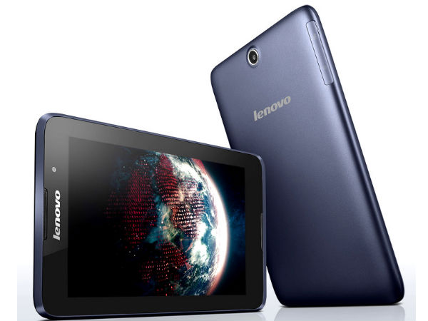 Lenovo A7-50 Quad Core Tablet Now Up For Sale At Rs 15,499