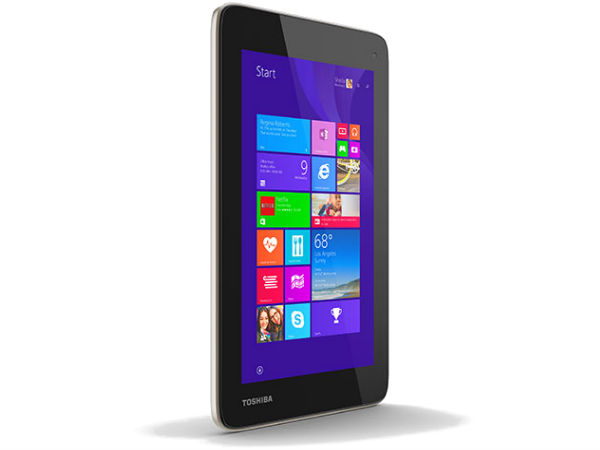 Toshiba Encore 7 Powered By Windows 8.1 Unveiled