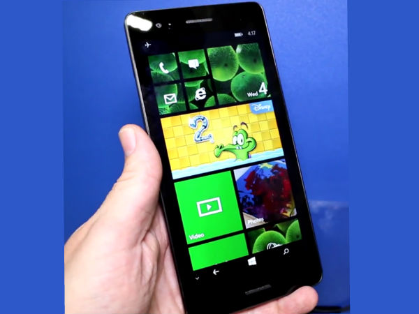 Wistron Tiger: A Windows Phone with Big 6.45 inch Display Unveiled