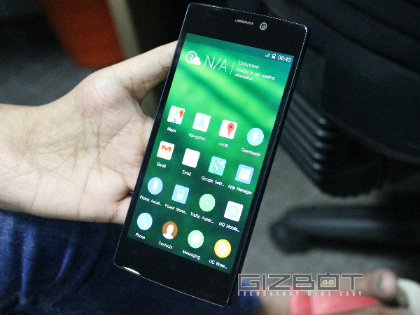 Gionee Elife S5.5: Gaming