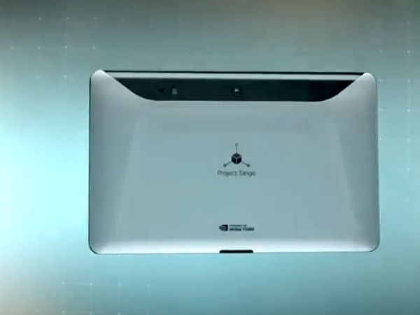 Google Project Tango: 7-Inch Prototype Tablet Unveiled With 3D-Sensor