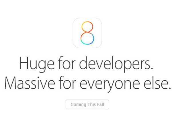 iOS 8 Officially Announced: Top 5 Features Apple 'Essentially Copied'