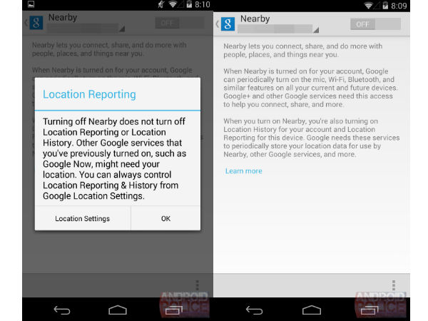 Google Nearby App Offering Location-Based Services Leaks Online