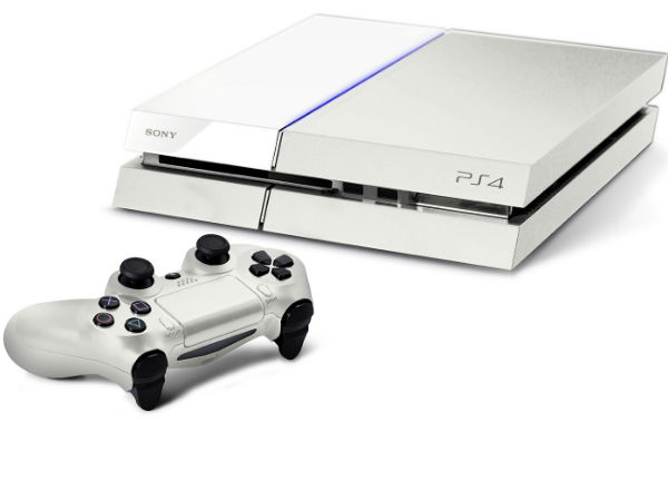 Special White PS4 Bundle Will Be Available in September