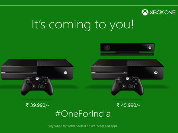 Xbox One from Microsoft Arrives in India: 5 Reasons To Buy It