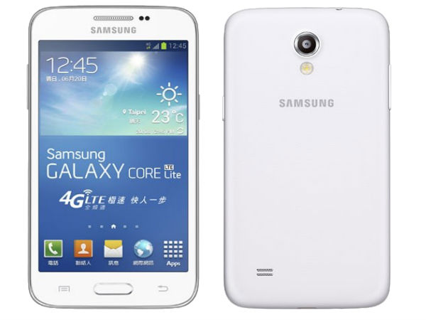 Samsung Galaxy Core Lite With Quad Core CPU, LTE Support Announced