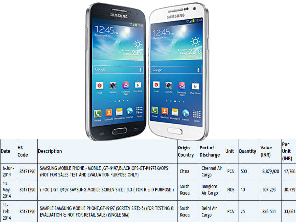Samsung Galaxy S4 mini 4G-LTE Variant Spotted Online