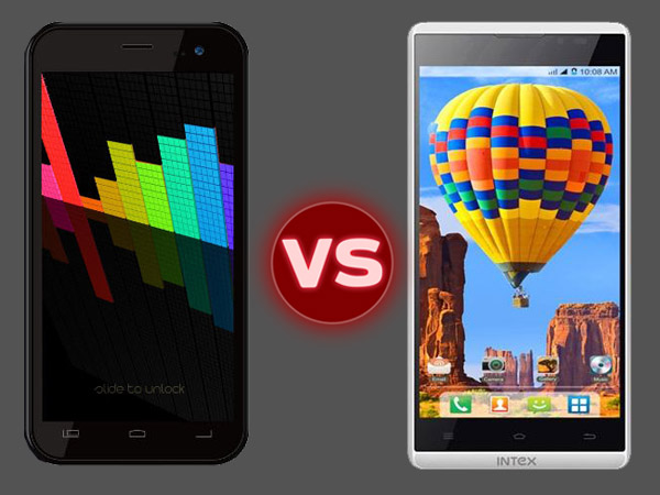 Swipe Konnect 5.0 Vs Intex Aqua i5 HD: Specs Comparison