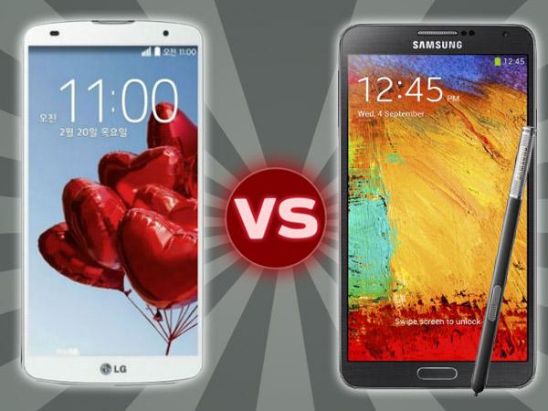 LG G Pro 2 Vs Samsung Galaxy Note 3: Specs Comparison