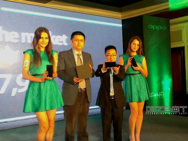 Oppo Find 7: 30-minutes Rapid Charge
