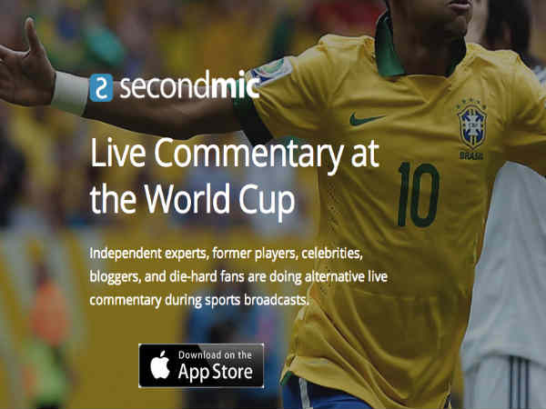FIFA World Cup 2014 Brazil: SecondMic