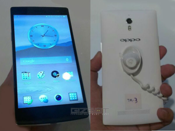 Oppo Find 7a Launched With 5.5 Inch FHD Display in India For Rs 31,990