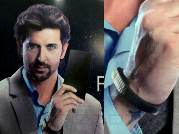 Why Hrithik Roshan is Wearing A Jawbone Up in Oppo Find 7 Ad?