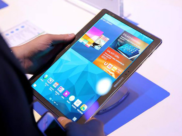 Samsung Galaxy Tab S – Book cover