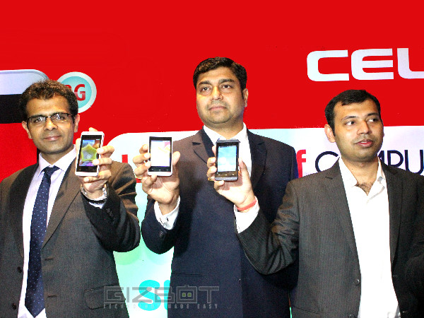 Celkon Launches Campus A35K Budget Smartphone with KitKat At Rs 2,999