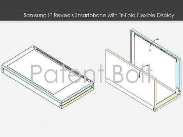 Samsung IP shows Off Foldable Tablet: Set for Early 2015 Release