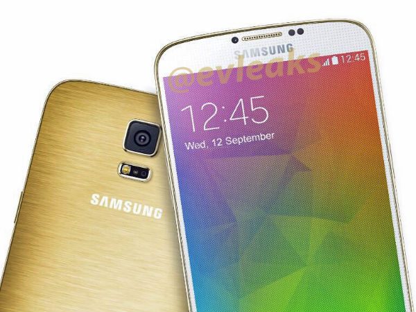 Samsung Galaxy F In Gold Color Leaks Online