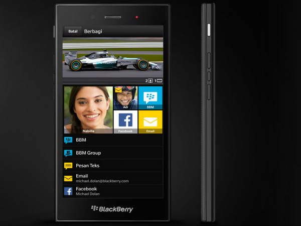 BlackBerry Z3: Budget Phone Priced At Rs 11,000 Coming Soon to India