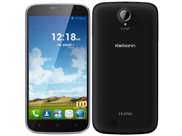 Karbonn Titanium S9 Lite with 5.5-inch Display Up For Sale For Rs 8990