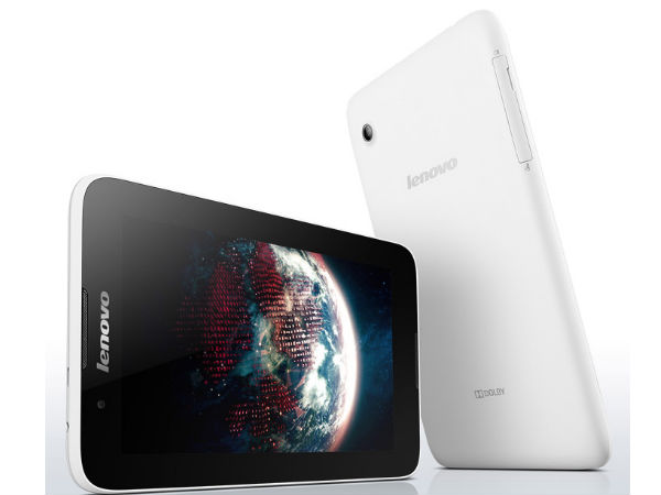 Lenovo A7-30 Tablet With Voice Calling Feature Available At Rs 9,979